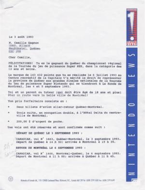 Camil Nintendo News 1993-08-03