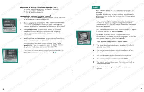 Guide Usager Annuaire Électronique 04 05