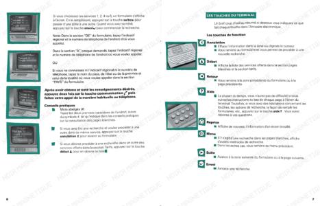 Guide Usager Annuaire Électronique 06 07