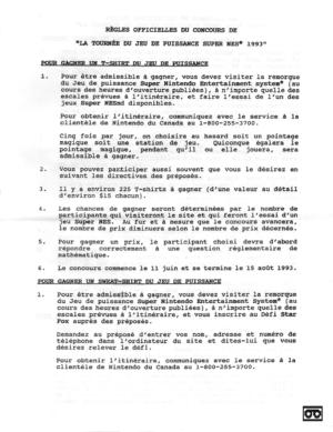 Nintendo Réglements FR 03