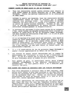Nintendo Réglements FR 04
