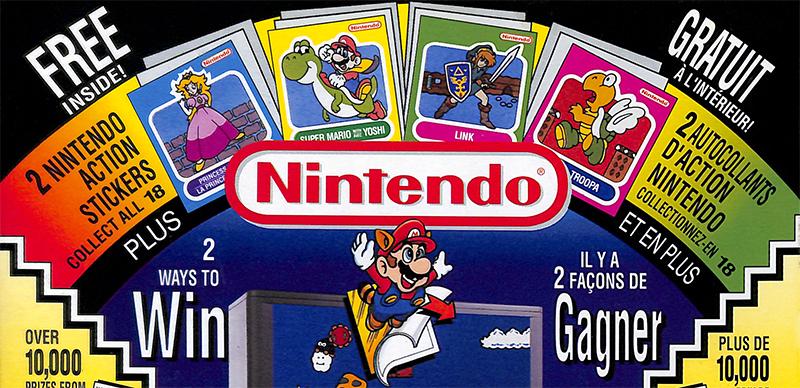 Boîtes de céréales – promos jeux vidéo au Canada